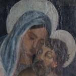 La Pietà tra i Santi Sebastiano e Cristoforo