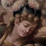 San Michele Arcangelo sconfigge il demonio tra San Carlo Borrromeo e San Filippo Neri